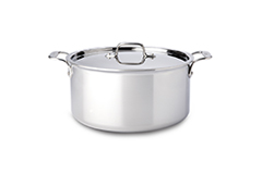 All-Clad d3 Tri-Ply Stainless Steel 8 qt. Stock Pot w/Lid