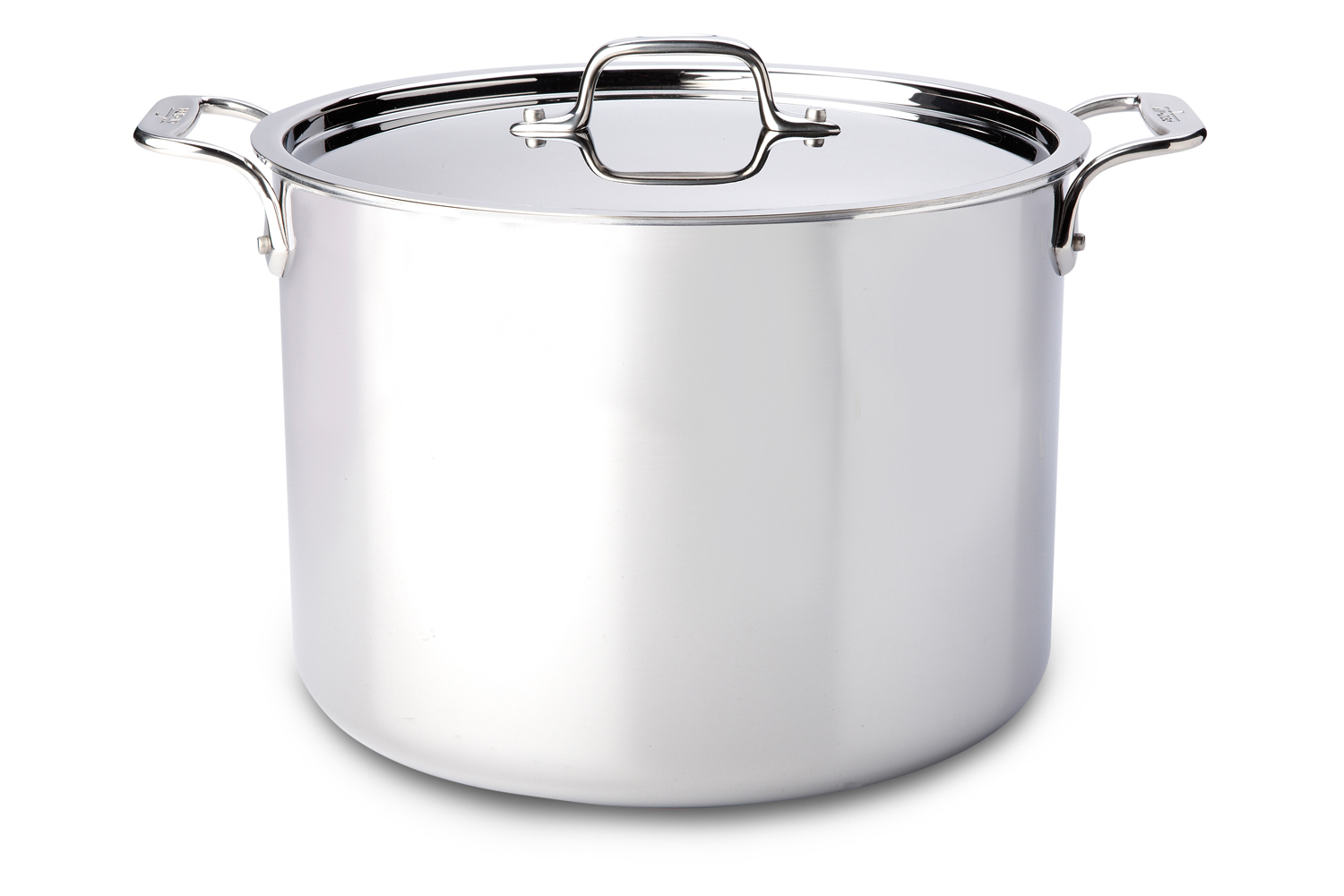 All-Clad d3 Tri-Ply Stainless Steel 12 qt. Stock Pot w/Lid