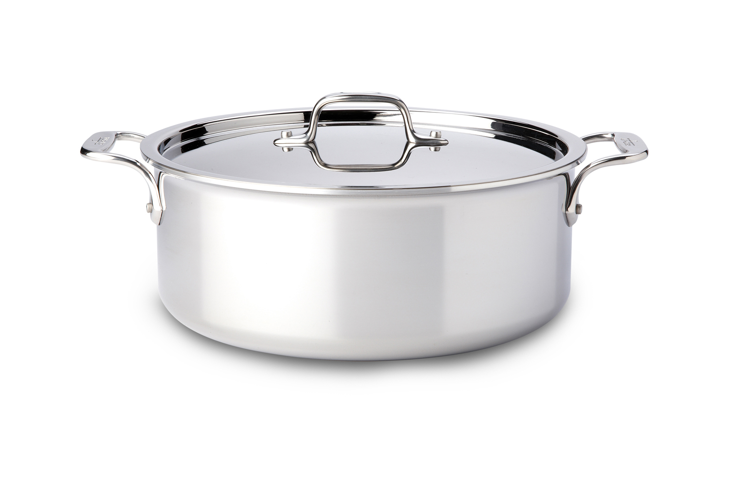 All-Clad d3 Tri-Ply Stainless Steel 6 qt. Stock Pot w/Lid