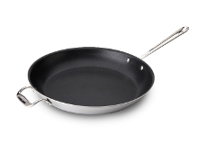 All-Clad d3 Tri-Ply Stainless Steel 14 inch Nonstick Fry Pan