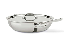 All-Clad d3 Tri-Ply Stainless Steel 4 qt. Multipurpose Pan w/Lid
