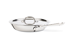 All-Clad d3 Tri-Ply Stainless Steel 10 inch Fry Pan w/Lid