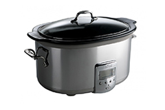 All-Clad 6.5 qt. Electric Slow Cooker w/Black Ceramic Insert