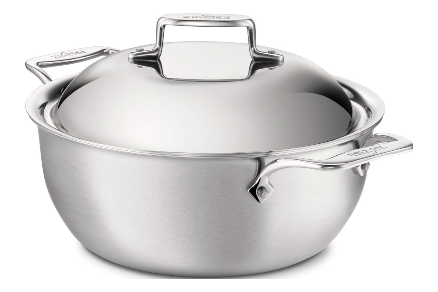 All-Clad d5 Brushed Stainless 5 1/2 qt. Dutch Oven