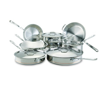 All-Clad Copper Core Cookware Sets