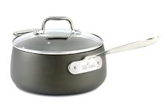 All-Clad HA1 Hard Anodized Nonstick 3.5 qt. Sauce Pan