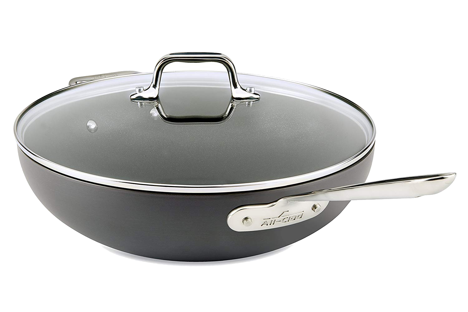 All-Clad HA1 Hard Anodized Nonstick 12 inch Chef Pan w/Lid