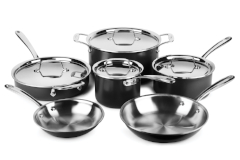 All-Clad LTD - 10 Piece Cookware Set