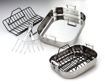 All-Clad Roasting Pans, Roti Pans, and Roasters