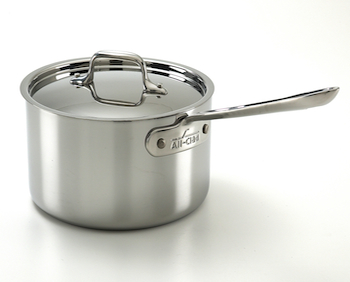 All-Clad d3 Stainless Sauce Pans