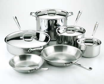 All-Clad Stainless Steel Cookware Sets