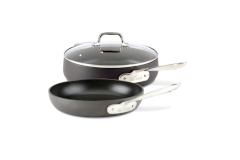 All-Clad HA1 Hard Anodized Nonstick 3 Piece Cookware Set