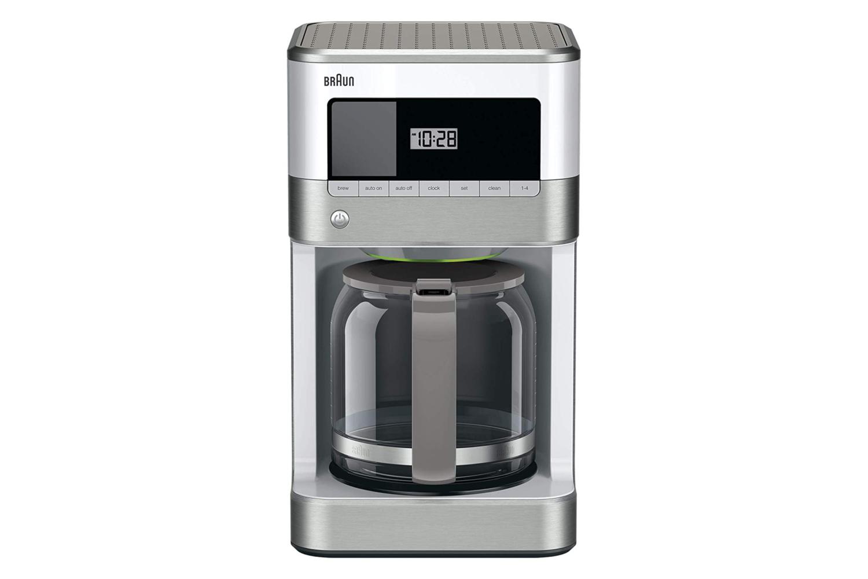 Braun BrewSense 12 Cup Drip Coffee Maker - White