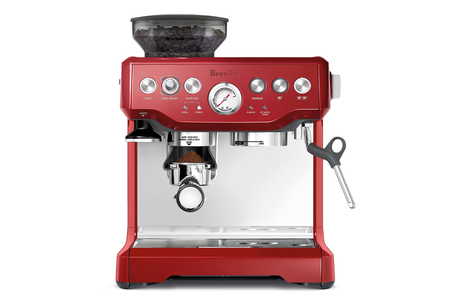 Breville Barista Express 870 - Cranberry Red