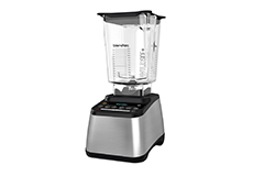 Blendtec Designer 725 Blender Stainless Steel on Black w/WildSide Jar