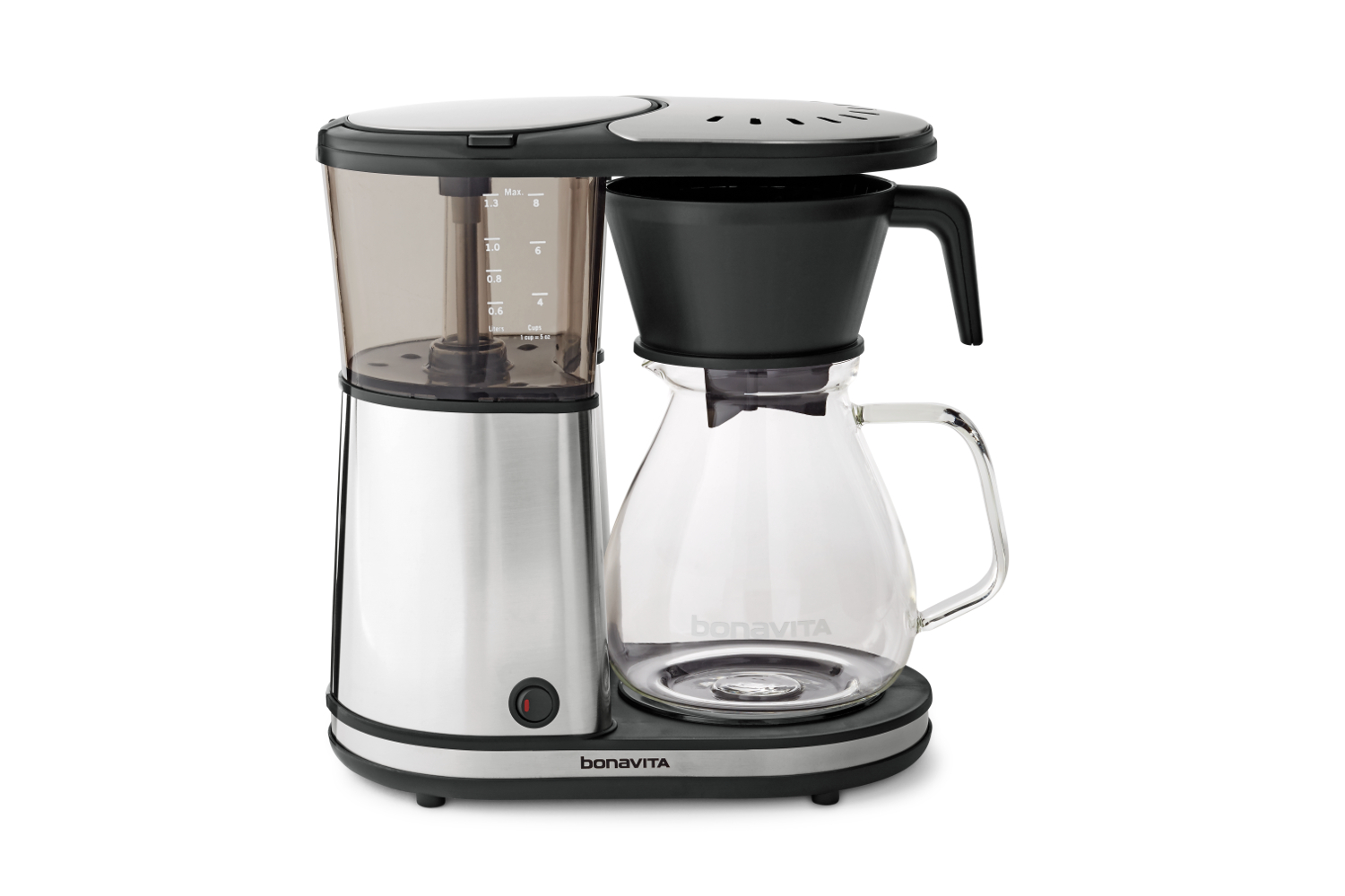Bonavita 8 Cup Glass Carafe Coffee Brewer w/Warming Plate