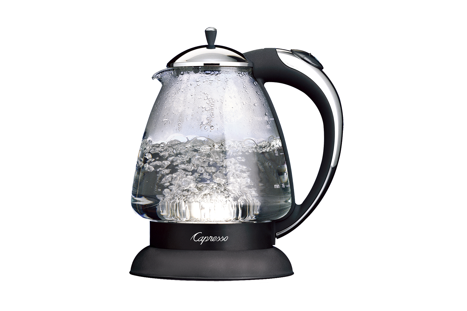 Capresso H2O - 6 Cup Water Kettle - Polished Chrome