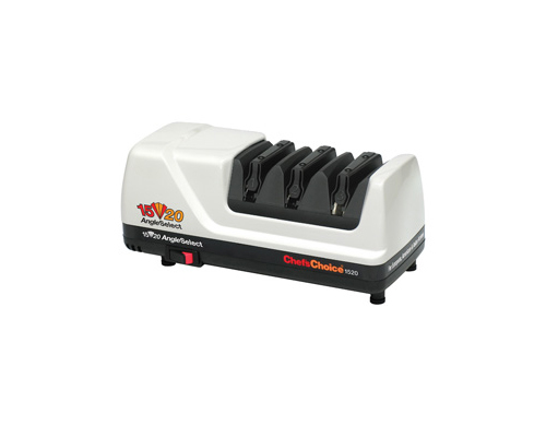 Chef's Choice 1520 CC-1520 Electric Knife Sharpener, White