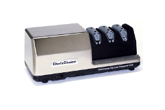 Chef'sChoice Commercial Diamond Hone 3-Stage Knife Sharpener - Brushed Metal