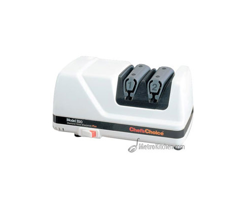 Chef's Choice 320 CC-320 Electric Knife Sharpener, White