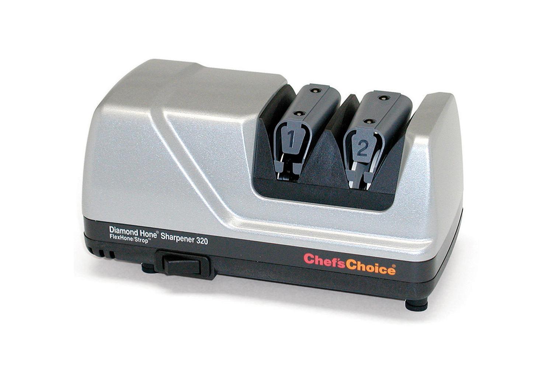Chef'sChoice 320 FlexHone/Strop Knife Sharpener - Platinum