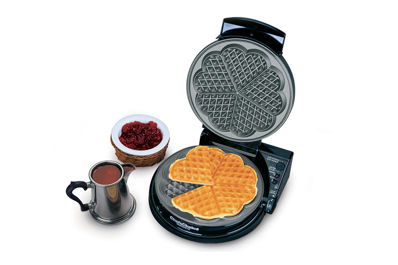 Chef'sChoice Waffle Pro - Heart Shaped Waffles