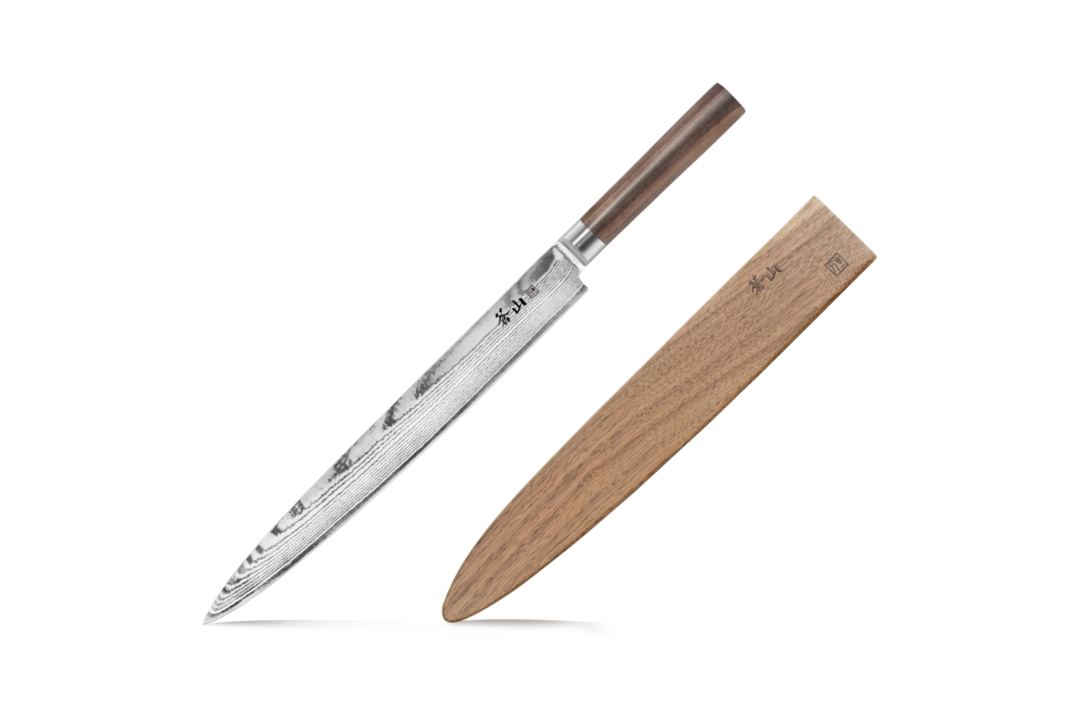 Cangshan J Series 12 inch Sashimi Chef's Knife w/Walnut Sheath