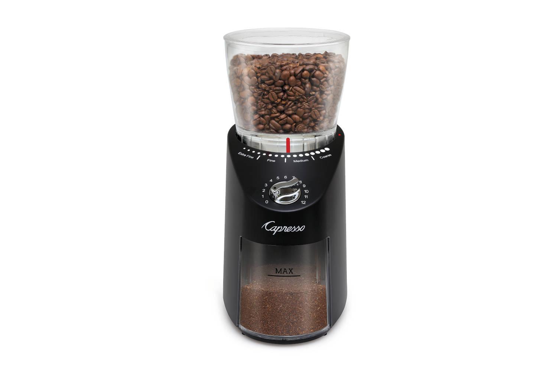 Capresso Infinity Plus Conical Burr Grinder - Black