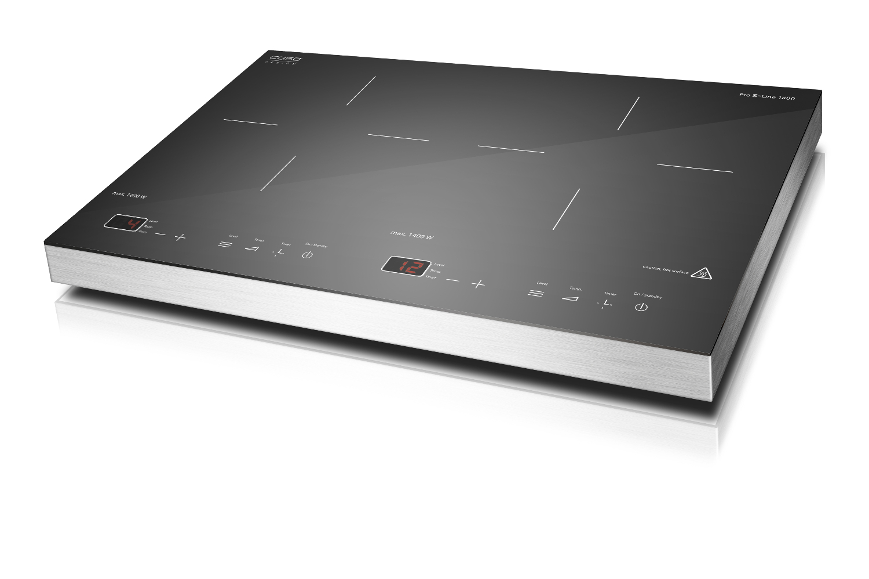 Caso Pro S-Line 1800 Double Induction Cooktop Burner