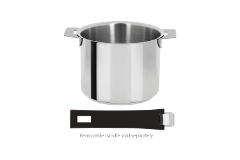 Cristel Mutine Stainless Steel 1.5 qt. Milk Pot