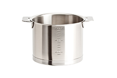 Cristel Strate Brushed Stainless 1.5 qt. Milk Pot