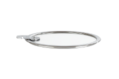 Cristel Removable Strate 6.5 inch Flat Glass Lid