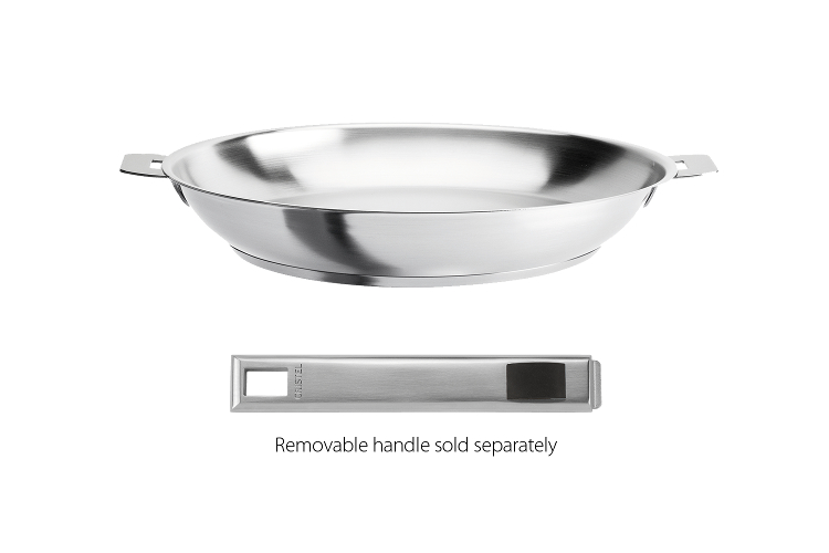 Cristel Strate 8in Frying Pan Removable Handle P20ql