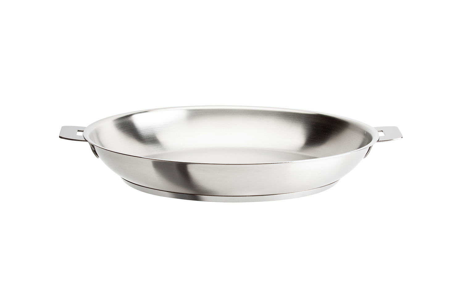 Cristel Strate Brushed Stainless 8.5 inch Fry Pan