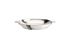 Cristel Strate Brushed Stainless 11 inch Fry Pan