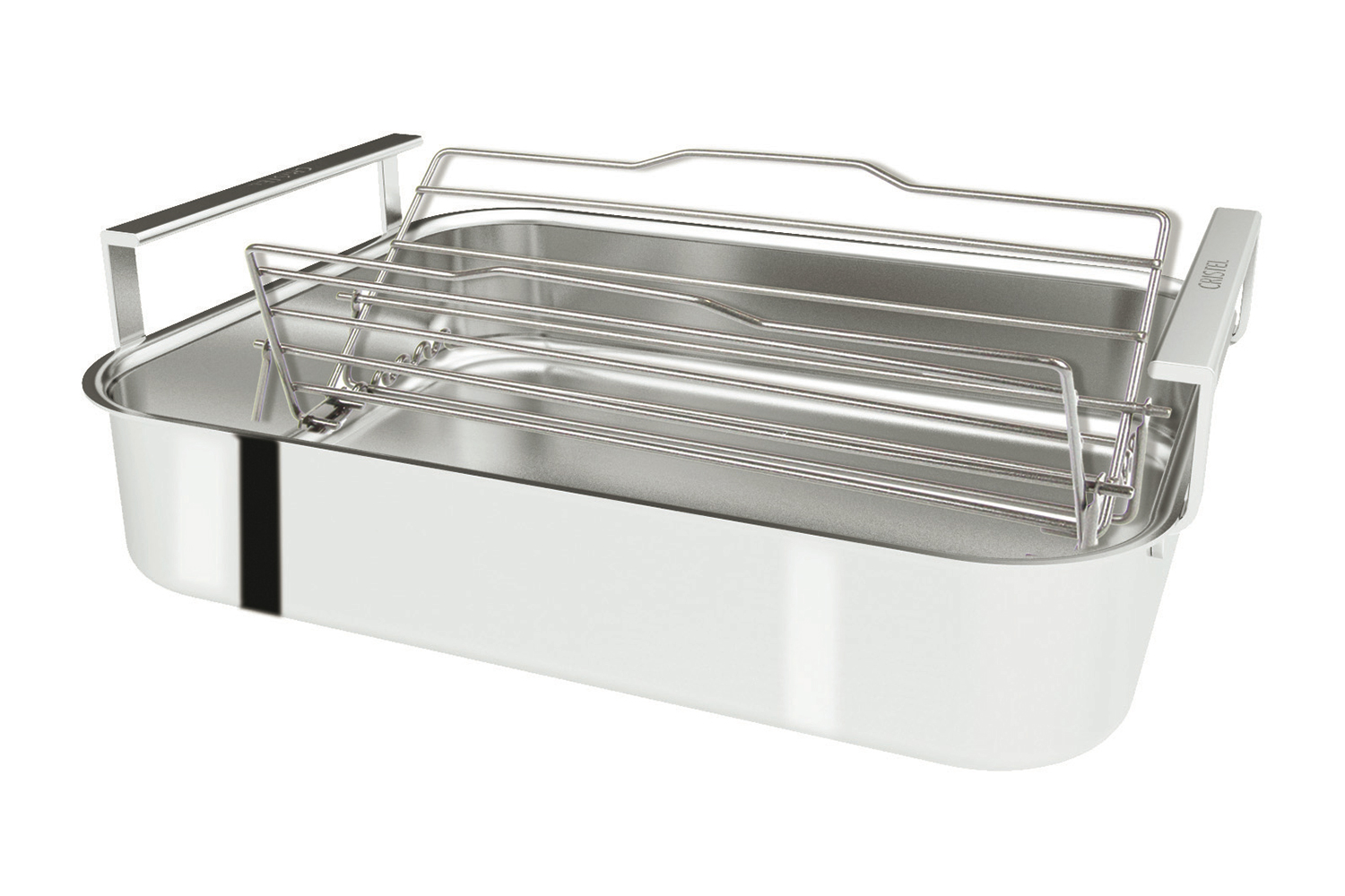 Cristel Stainless Steel Roaster w/Rack