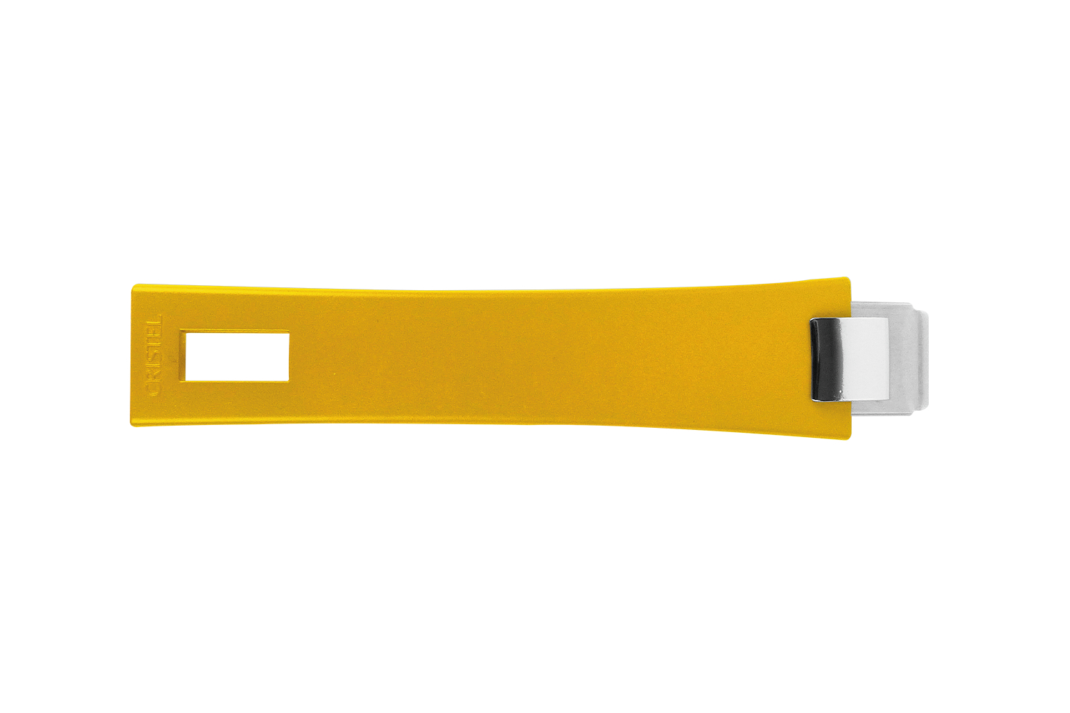 Cristel Mutine Removable Long Handle - Yellow