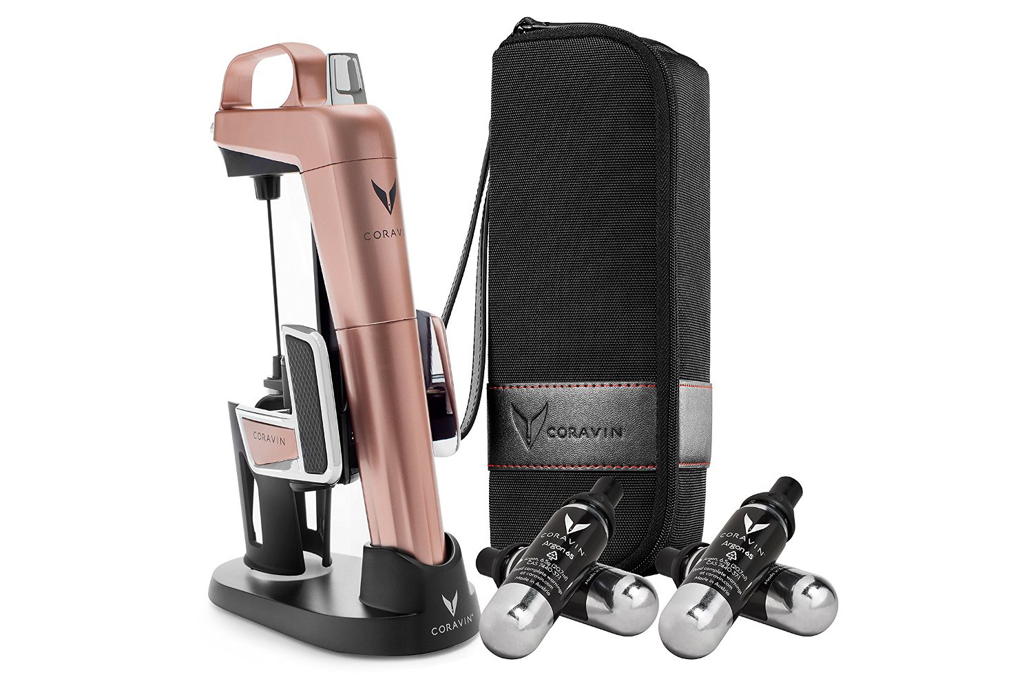Coravin Model Two Elite Pro Bundle - Rose Gold