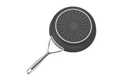Demeyere Alu Pro Aluminum Nonstick 9 1/2 inch Deep Fry Pan