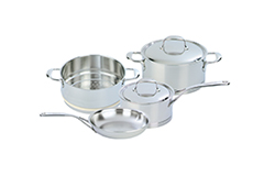 Demeyere Atlantis Stainless Steel 6 Piece Cookware Set