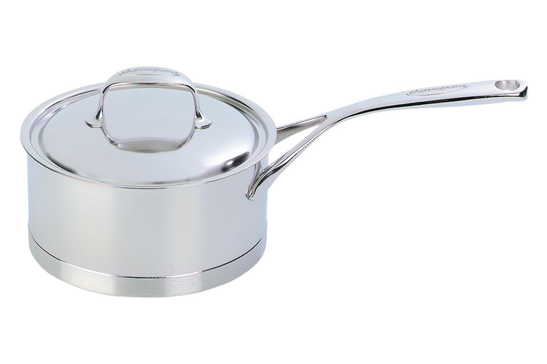 Demeyere Atlantis Stainless Steel 1.1 qt. Sauce Pan & Lid