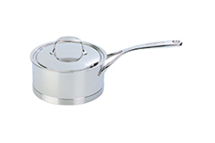 Demeyere Atlantis Stainless Steel 2.3 qt. Sauce Pan & Lid