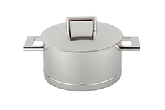 Demeyere John Pawson Stainless Steel 3.2 qt. Casserole or Saucepot & Lid