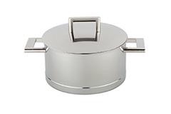 Demeyere John Pawson Stainless Steel 4.2 qt. Casserole or Saucepot & Lid