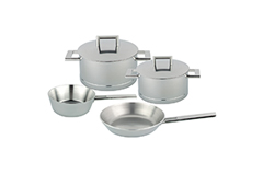 Demeyere John Pawson Stainless Steel 6 Piece Cookware Set