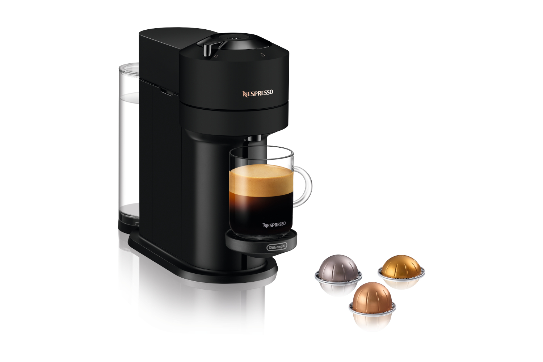 Nespresso VertuoNext Coffee and Espresso Machine by De'Longhi - Black