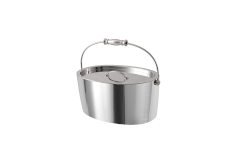 Crafthouse By Fortessa Oval Ice Bucket w/lid