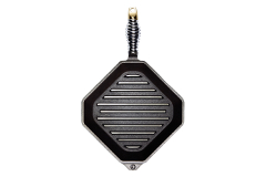 FINEX 10 inch Cast Iron Grill Pan (Grillet)