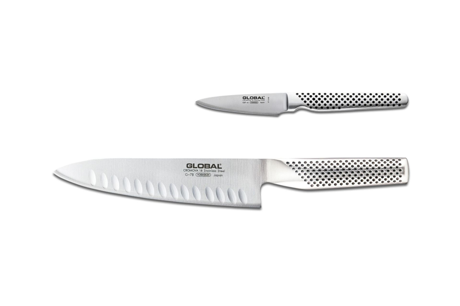Global 2 Piece Kitchen Knife Set
