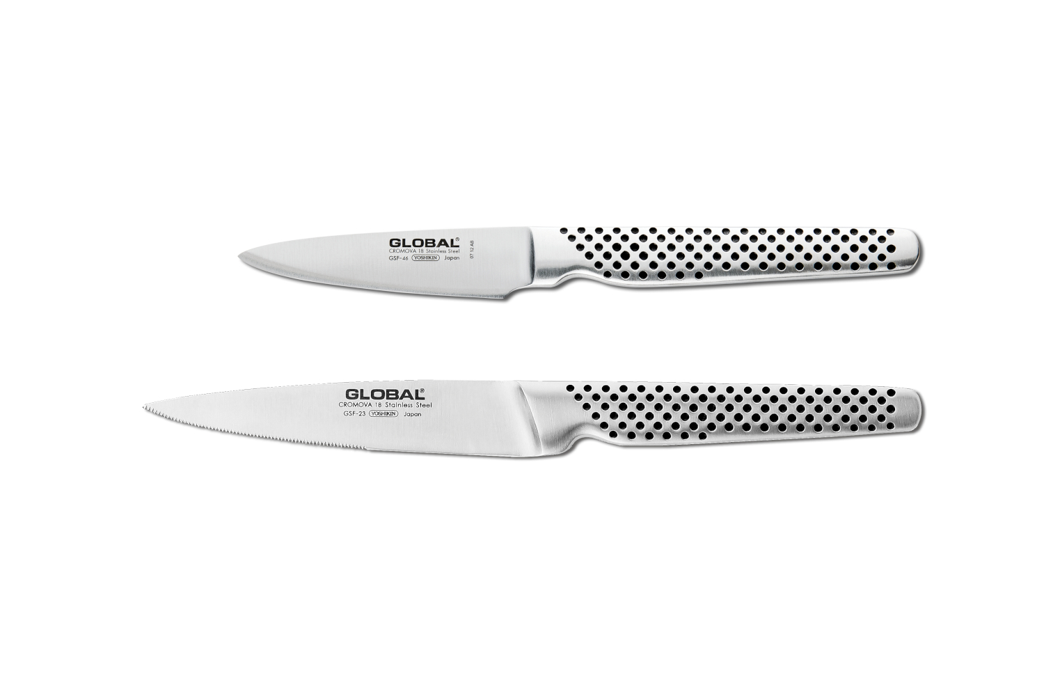 Global 2 Piece Knife Set